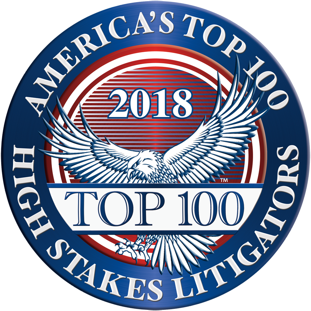 America's Top 100 High Stakes Litigators in Maryland badge
